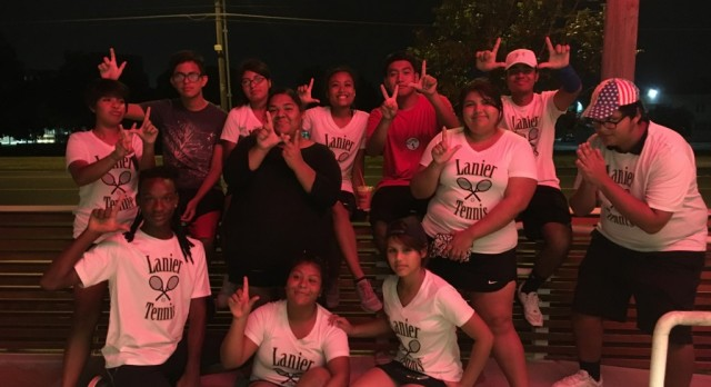 Lanier Tennis Starts the Season off Strong