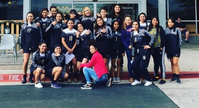 Lanier Girls Soccer Cruises in 3-0 Win Over Eastside Memorial