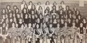 The last organized Pep Club - 1980