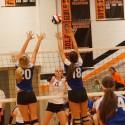 Varsity Volleyball vs Liberty 2014