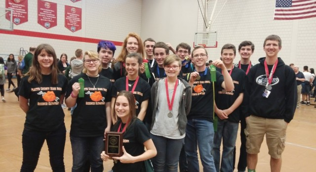 Science Olympiad Qualifies for State