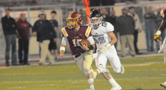 G-Men Run Past the Falcons on Homecoming