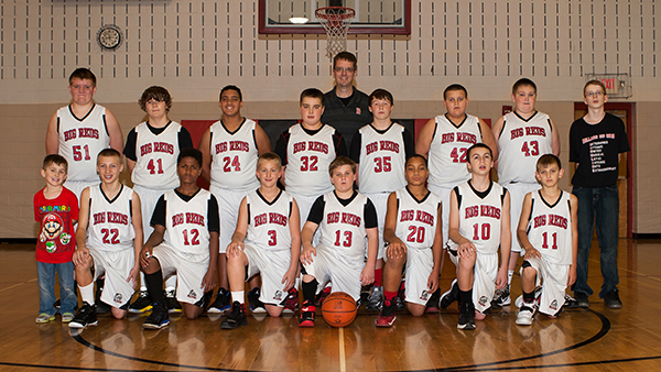 7th-Grade Hoopsters Net Exciting Opening Round Tournament Win