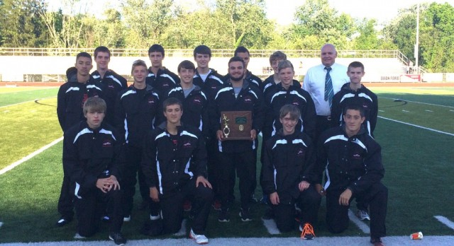 Boy's Track Team Eastern District Champs