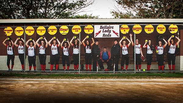 Lady Reds win Dibby Ball