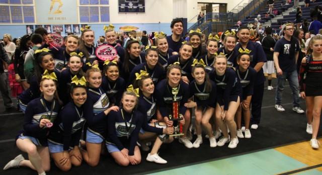 GWHS Cheers named Sweetheart Blast Grand Champions!