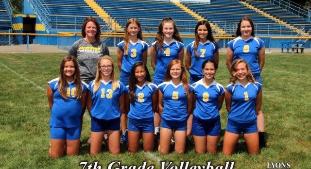 7th Grade Volleyball Team Falls in PTC Semis