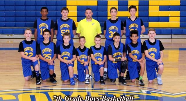 7th Grade Boys Basketball Defeats Springfield