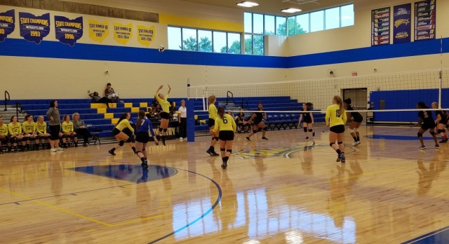 Volleyball Makes Quick Work of Kenmore