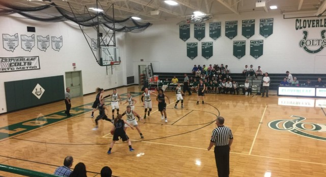 Lady Comets Fall to Cloverleaf