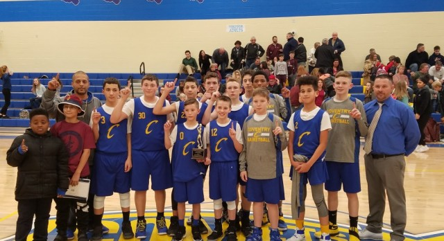 7th Grade Boys Basketball Wins PTC Championship