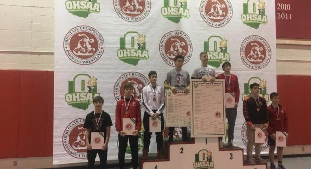 Joe Wright Places 8th at State Wrestling Tournament