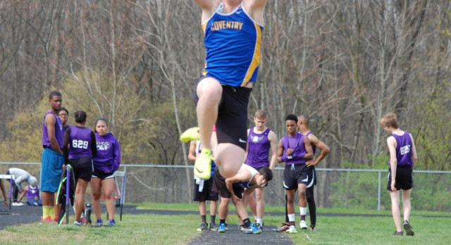 Burkhart and Martinez Lead the Comets on First Day of Track Districts