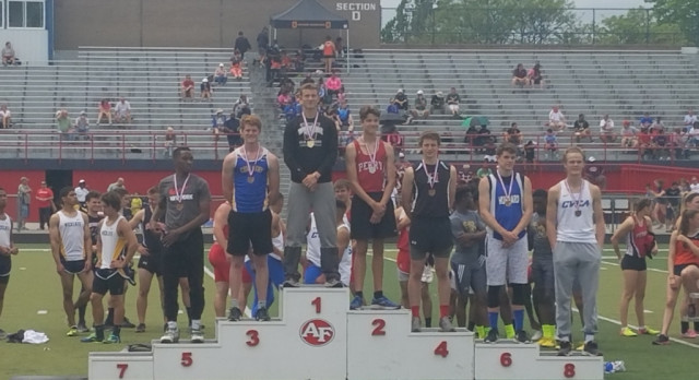 Senior Dillan Raines Qualifies for the State Track Meet
