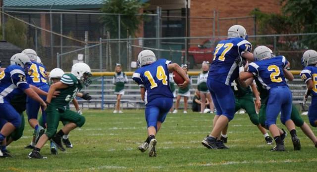 MS Football Defeats Cloverleaf