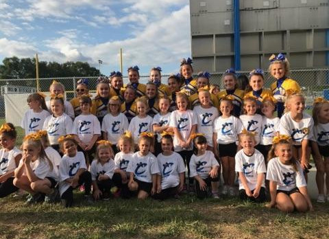 Cheer Team Hosts Cheer Camp