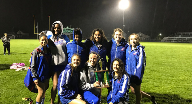Girls Track finishes 2nd at Wildcat Invitational