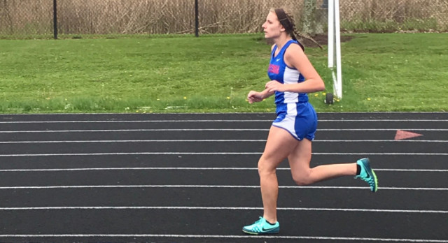 Girls Track wins vs. Springfield and Coventry