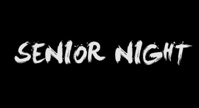 Senior Night Insert Information