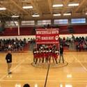 Boys Basketball and Cheer Senior Night 16-17