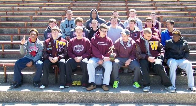 Watervliet High School Track/Field Varsity Boys finishes 1st place at 42nd Annual  Watervliet Relays
