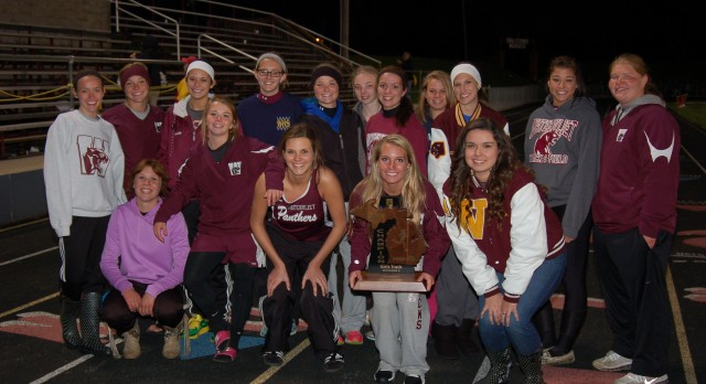 Watervliet High School Track/Field Varsity Girls finishes 1st place at Regional Championship Meet