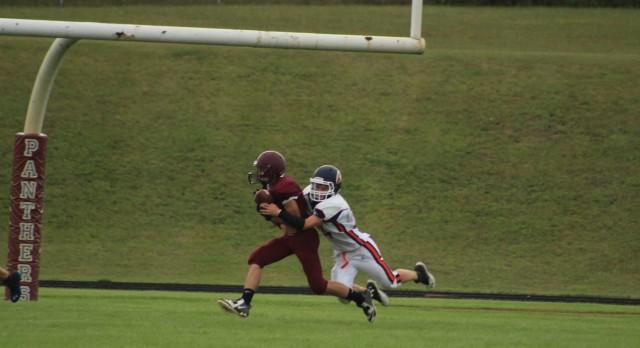 Watervliet High School Football JV beats Gobles High School 53-18