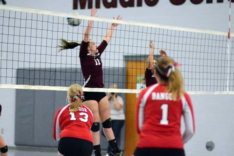 Watervliet High School Volleyball Varsity beats Bangor High School 2-0