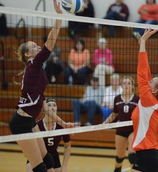 Watervliet High School Volleyball JV beats Fennville High School 25-13