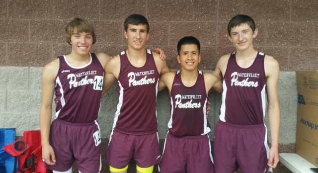 Watervliet Boys Varsity Track set records at State Meet!!