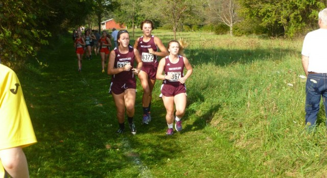 Watervliet High School Girls Varsity Cross Country finishes 1st place