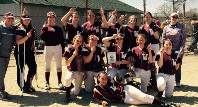 Watervliet High School Junior Varsity Softball beat Wayland High School 10-2