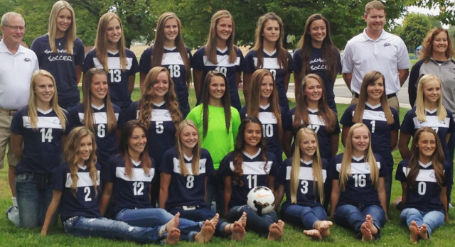 Skyview High School Girls Varsity Soccer ties Bishop Kelly High School 1-1