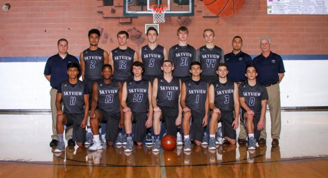 Skyview High School Boys Varsity Basketball beat Emmett High School 54-50