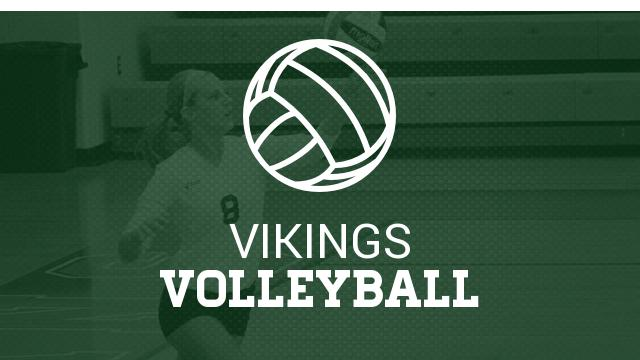 Lady Vikes Volleyball to Cheboygan in District Semis