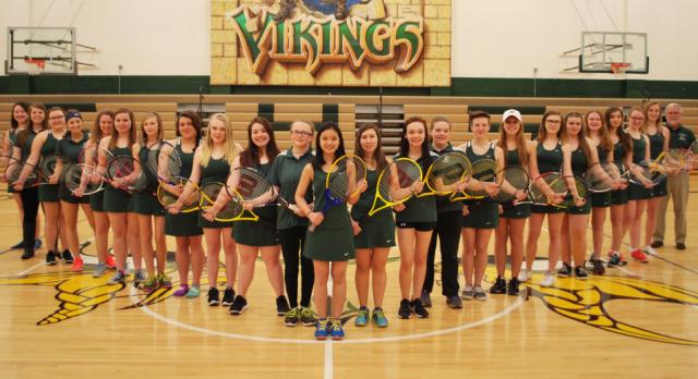 Girls Tennis Making Improvements!