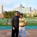 Varsity Baseball at Victory Field (4/22/16)