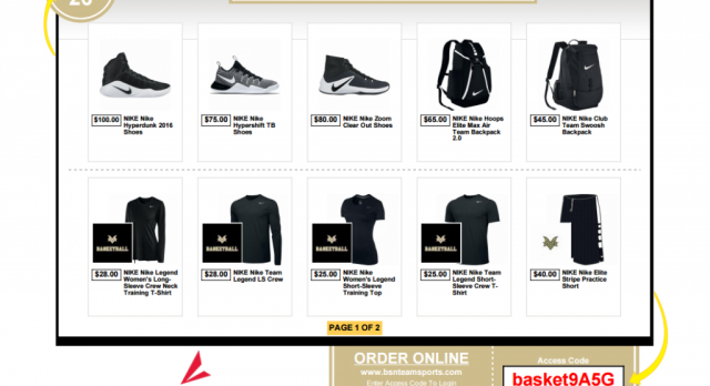 Basketball Flash Store Open