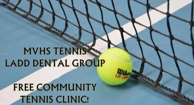 Free Tennis Clinic 10/28!