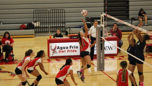 Agua Fria Girls Junior Varsity Volleyball beat Glendale 2-0 - This is the home of owlsathletics.org