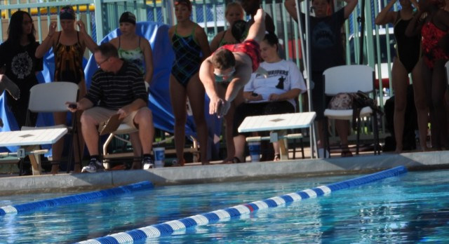 Women's Swim Places First, Men Place Second in Tri-Meet