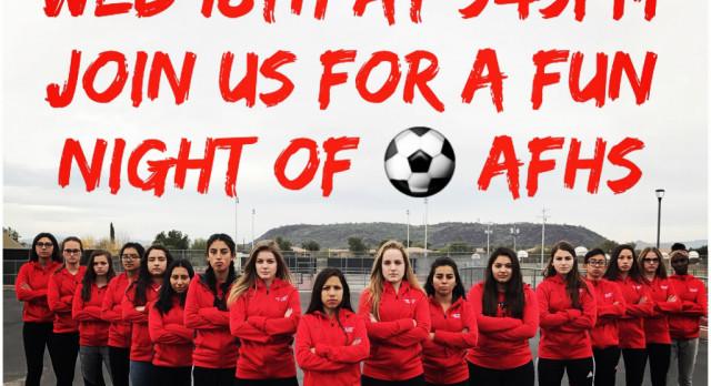Senior W Soccer Girls Take Home Field For Final Time