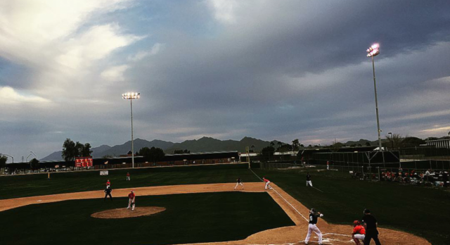 Boys Baseball Defeats Cesar Chavez in Scrimmage