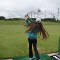 Girls Golf Practice