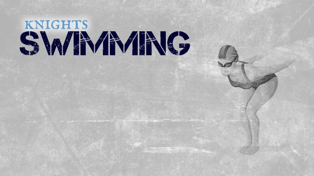 Women's Swimming sets School Records in last meet of the season