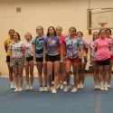 THS Varsity Competitive Cheer Practice 1-15-16