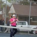 2016 THS Girls Tennis vs Wyandotte