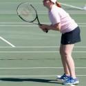 THS Girls Tennis at News Herald Tournament 16Apr16