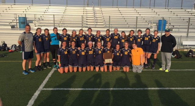 Trenton Girls Soccer Back to Back League Champs!!