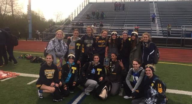 Trenton High School Girls Varsity Track finishes 2nd place